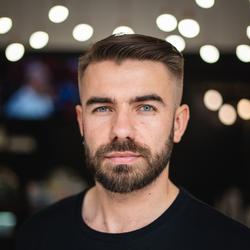 """Przemek """"Goryl"""" Pałubiński - MINT Barber Shop & Academy"""