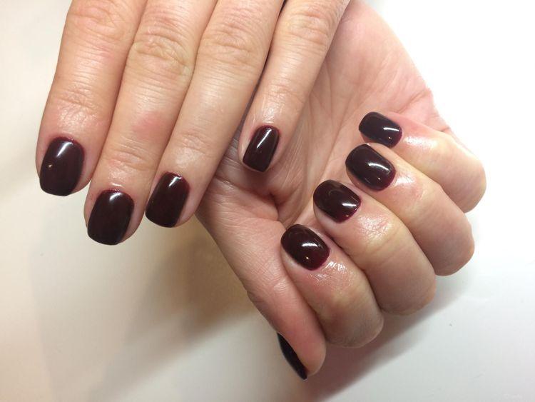 Nieuczulający manicure hybrydowy KABOS + malowanie 1 kolor