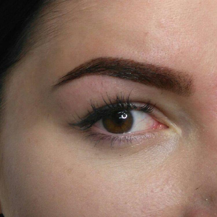 Henna brwi semipermanentna BrowHenna Henna pudrowa Efekt utrzymuje się 1-2 tyg na skórze,  4-6 tyg na włosie