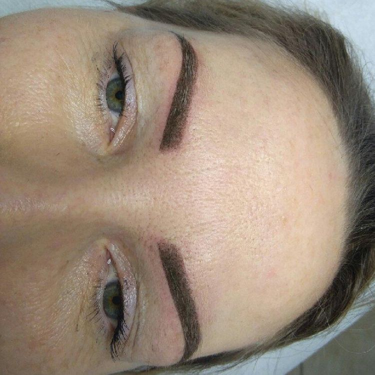 Makijaż permanentny brwi- metoda cieniwania