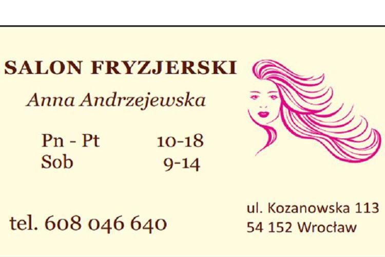 Salon Fryzjerski Anna Andrzejewska