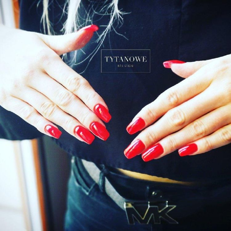 💥 Red Nails ❤️