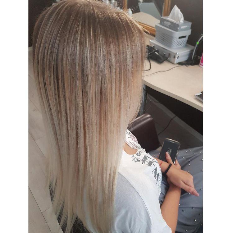 Sombre/ombre na długich włosach