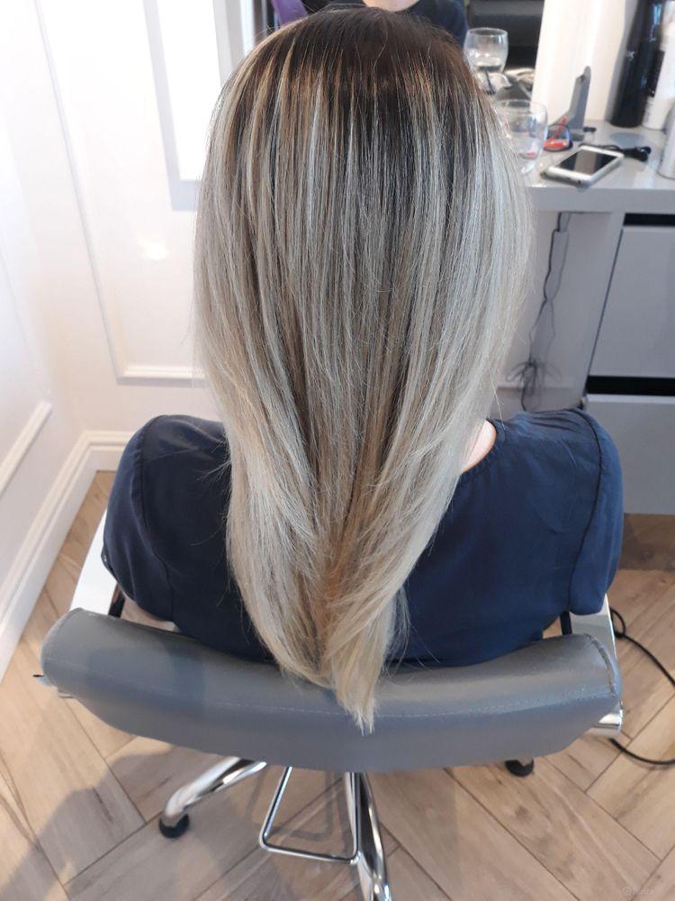 Ombre Hair + kolor + strzyżenie + modelowanie - Włosy długie