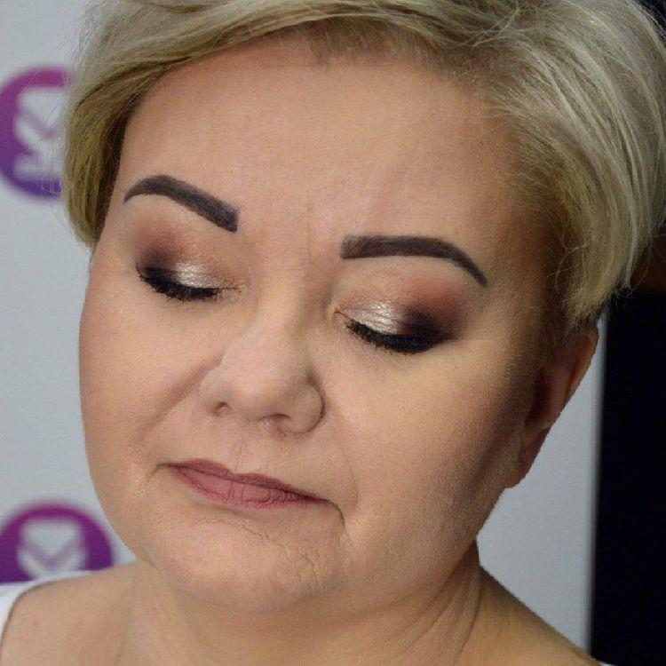 Makijaż kobiety dojrzałej  :)