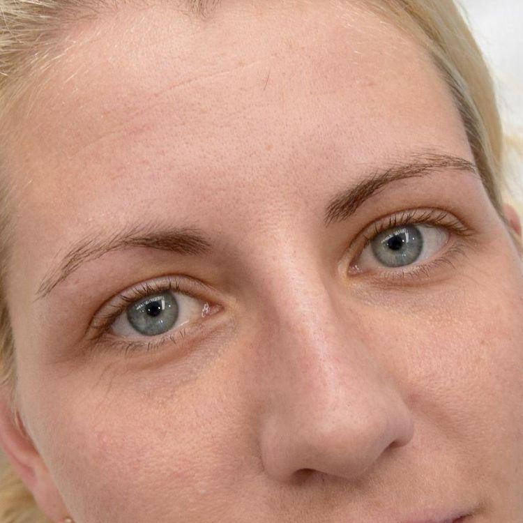 Makijaż permanentny - brwi / zdjęcie przed