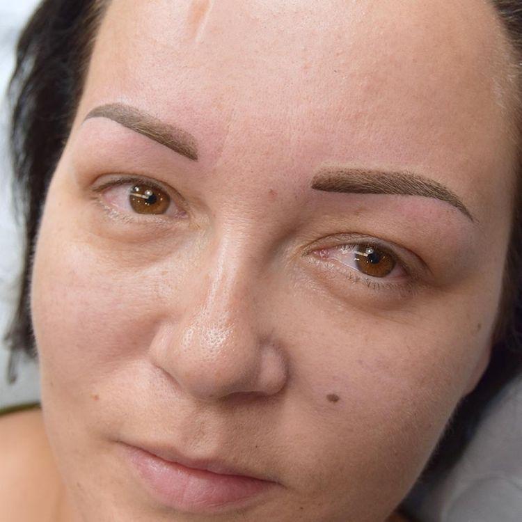 Makijaż permanentny - brwi / zdjęcie po