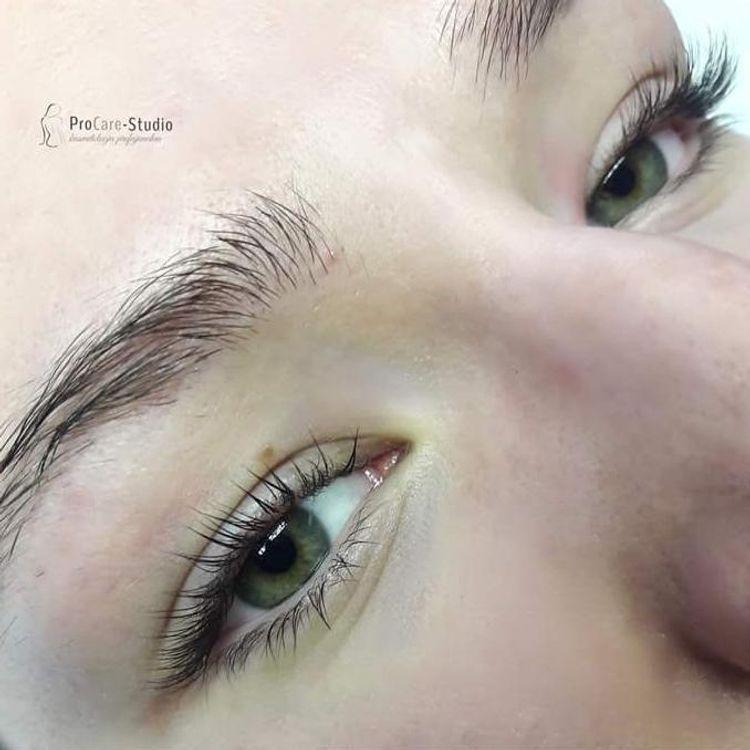Botox Lift - trwała, henna, botoks, laminacja rzęs / zdjęcie po zabiegu