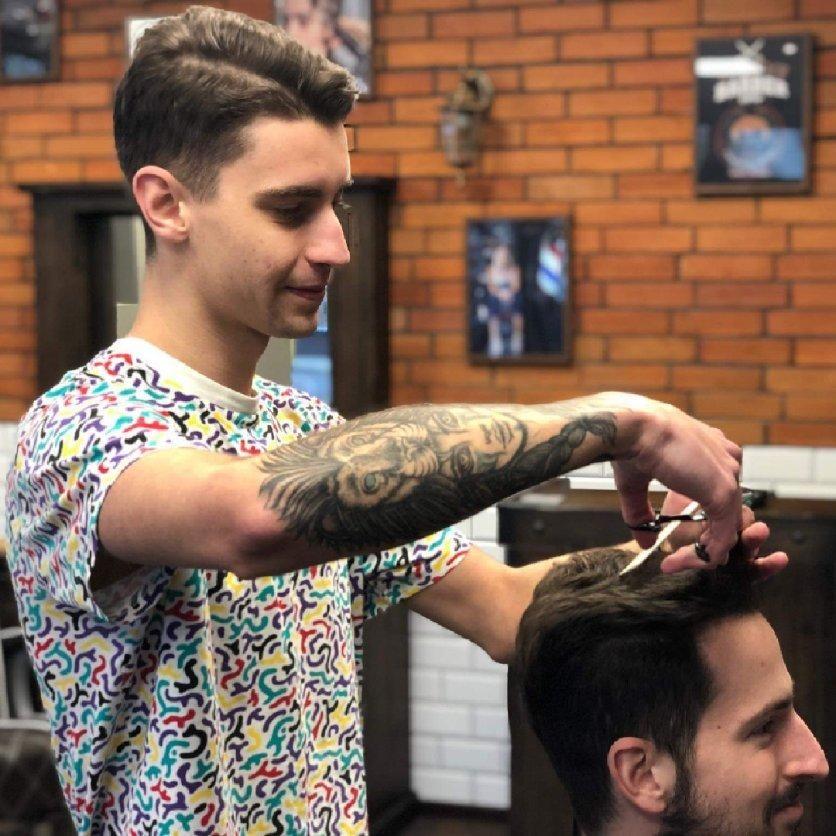 Barber shop, Fryzjer - SCARFACE Barber Shop ul.Bukowska