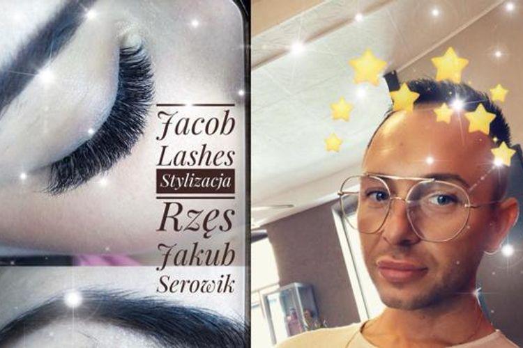 Jacob Lashes Stylizacja Rzęs Jakub Serowik