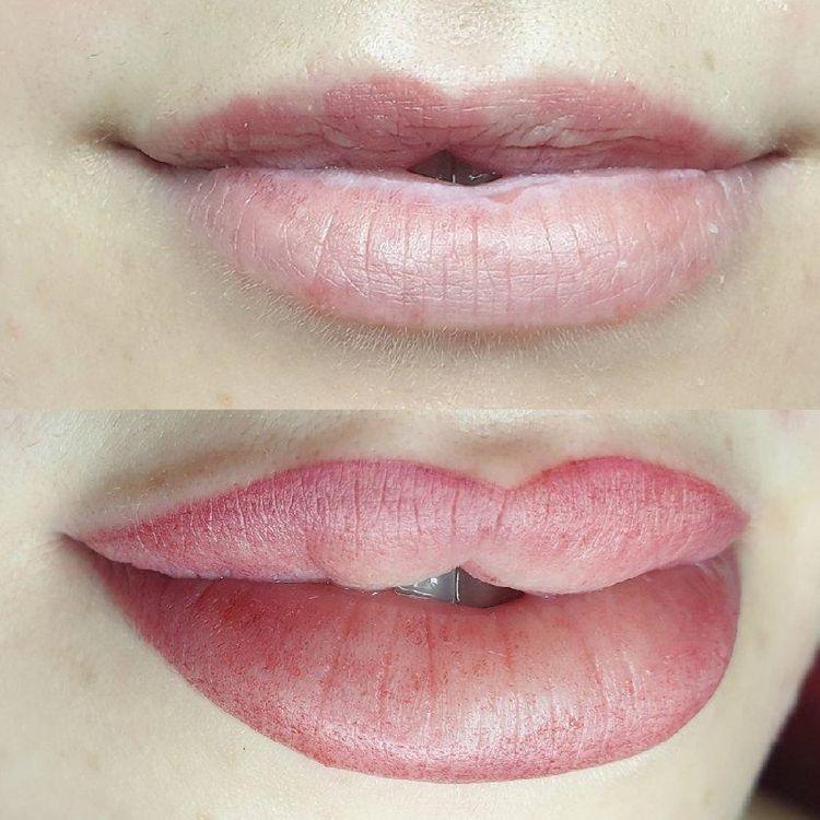 💋 makijaż permanentny ust