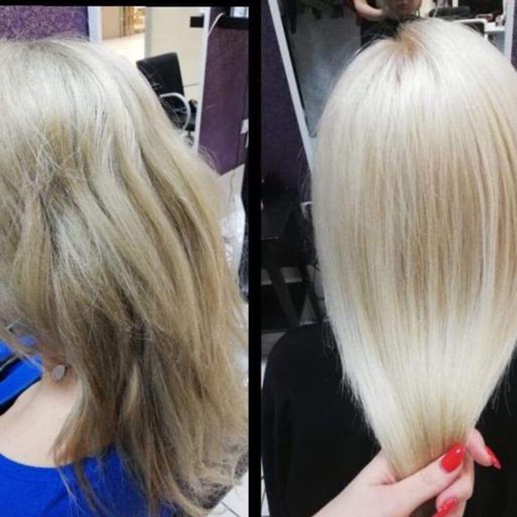 Ten blond zapewniła Monika