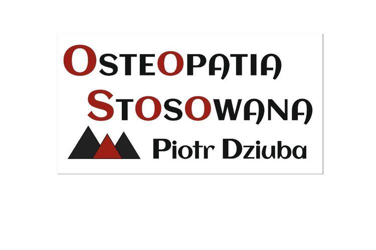 OSTEOPATIA STOSOWANA Piotr Dziuba