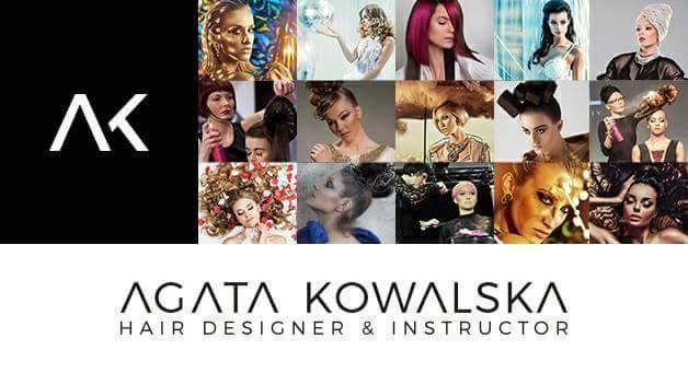 Fryzjer - Agata Kowalska HAIR DESIGNER & INSTRUCTOR