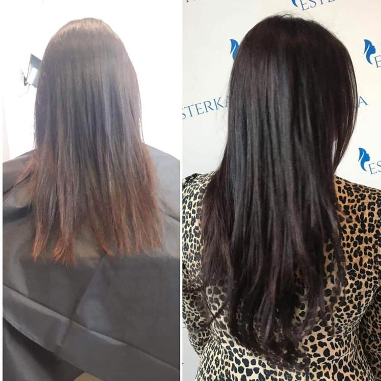 Przedłużanie włosów metodą kanapkową Hairtalk