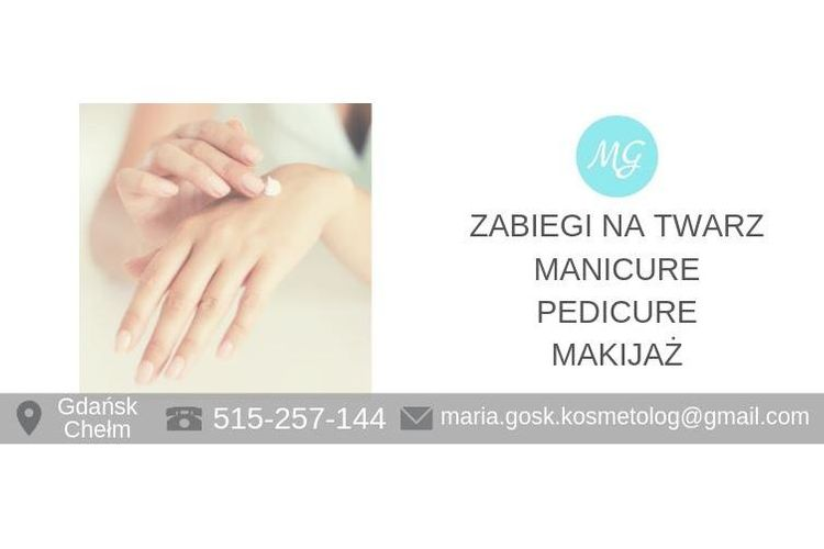 Kosmetolog Maria Gosk