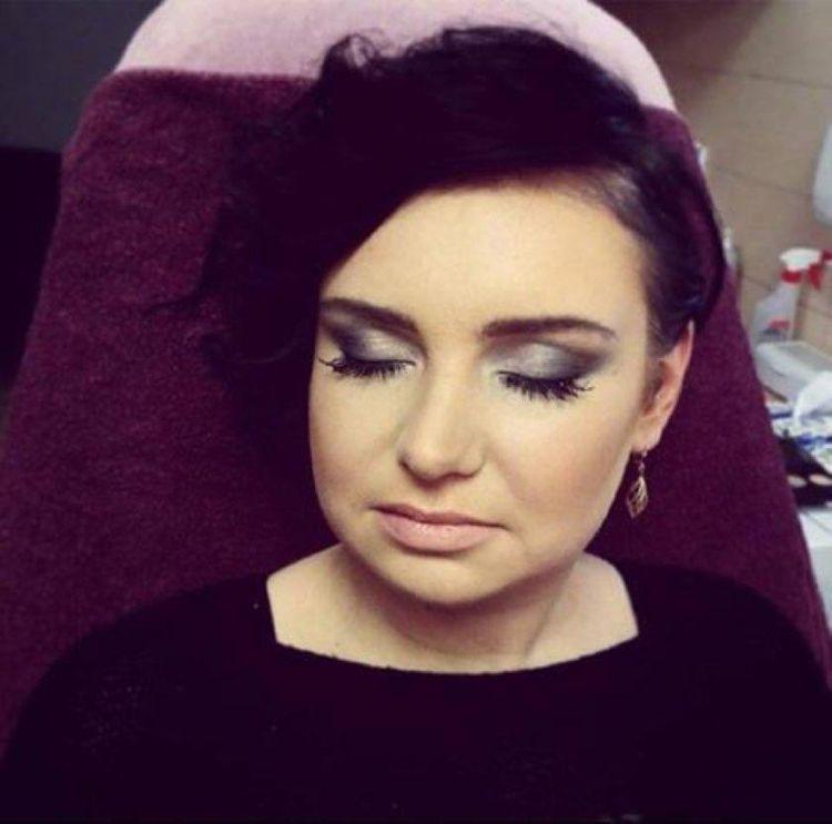 Makijaż wykonany przez Anie