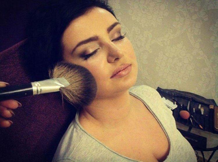 Próbny makijaż ślubny wykonany przez Anie