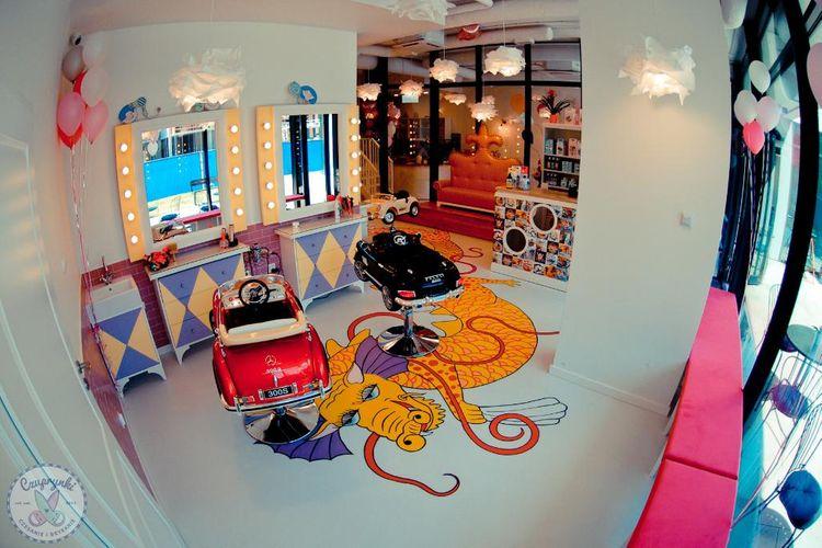 Czuprynki Żoliborz fryzjer dla dzieci i dorosłych
