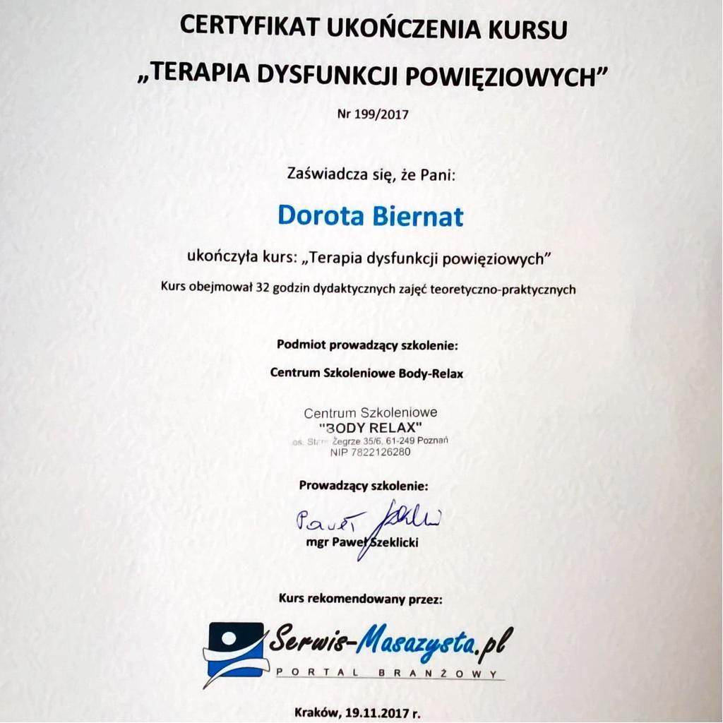 Fizjoterapia - DOR-MED Fizjoterapeuta Dorota Biernat