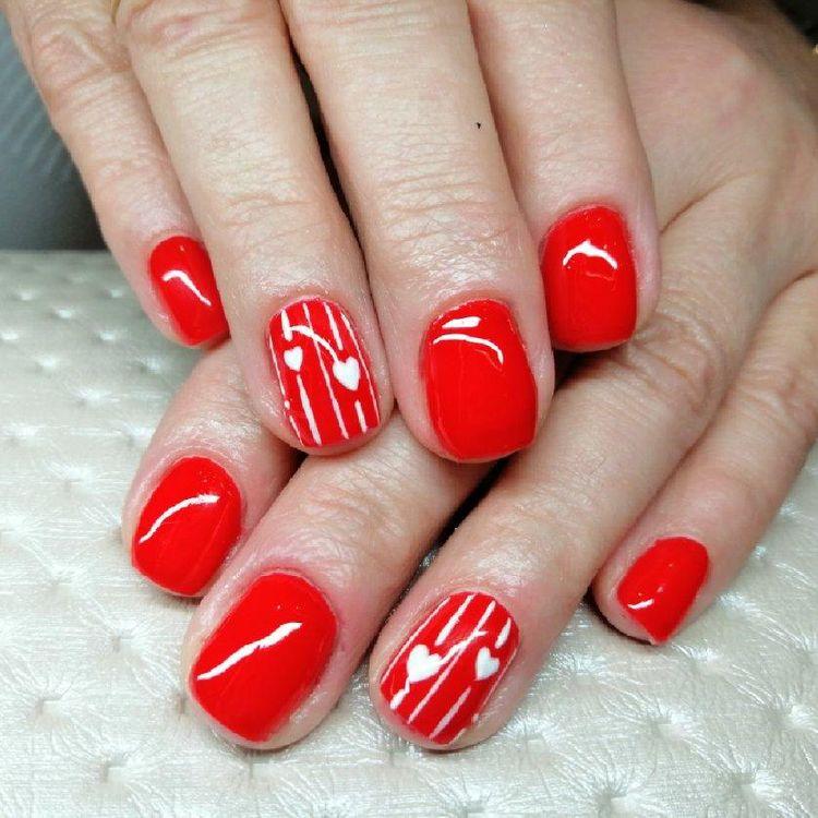 Cudeńka od Naszej Asi ❤️ #manicure #hybrydowy 👌🔝
