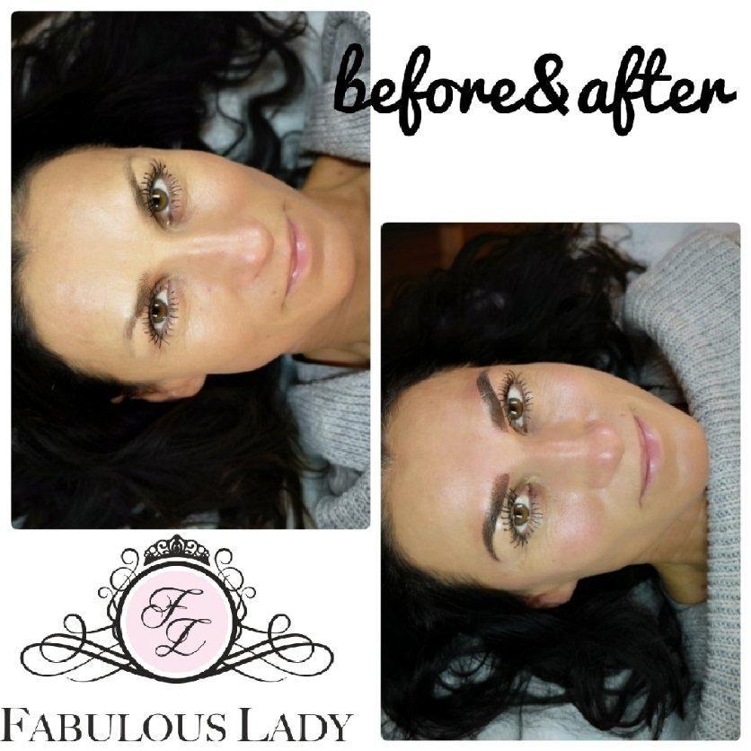 Salon Kosmetyczny, Brwi i rzęsy - Salon Fabulous Lady