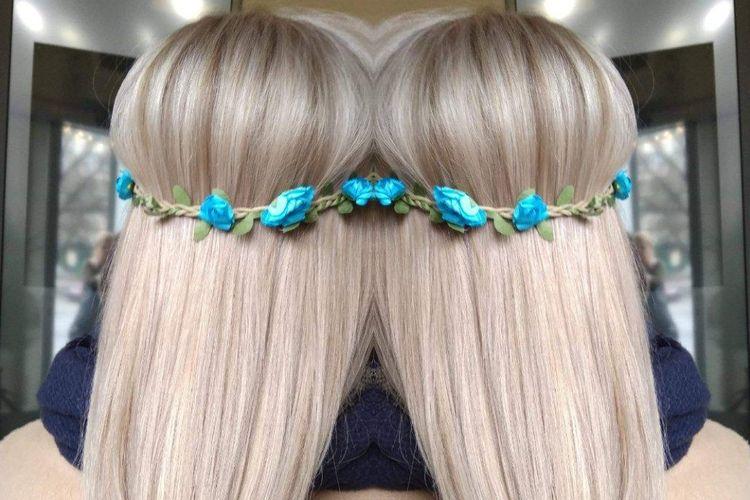 Blue Hair Sylwia Swiątek