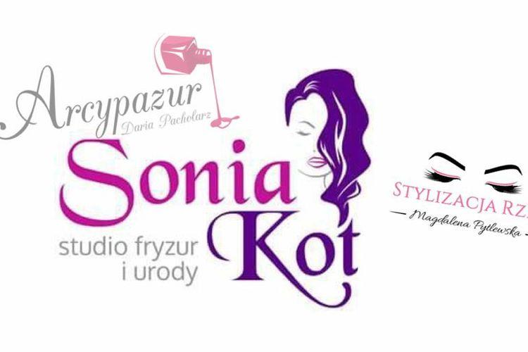 SONIA KOT Studio Fryzur, ARCYPAZUR, Stylizacja rzęs Magdalena Pytlewska