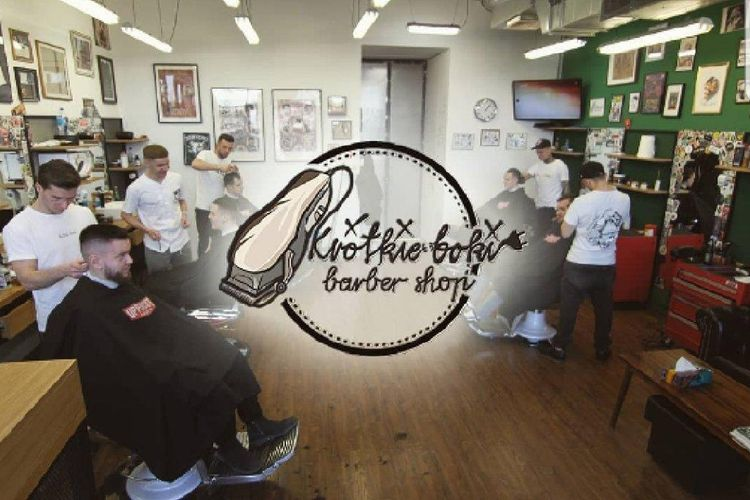 Krótkie Boki Barbershop