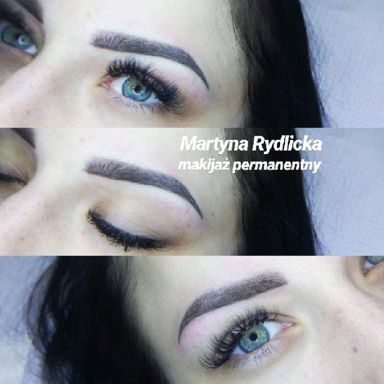 Makijaż permanentny brwi Przedłużenie rzęs