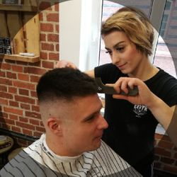 JUSTYNA ,, Harley Quinn'' - Barber Shop ŁOTR Opole - Plebiscytowa 3/15