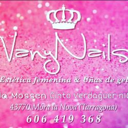 VanyNails Estética Uñas BodyPiercing, Avenida mossen cinto verdaguer, N16 local, 43770, Móra la Nova