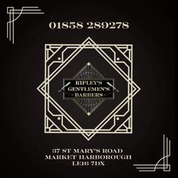 The Men's Room Market Harbs (now Ripleys barbers), 37 St Marys Road, LE16 7DS, Market Harborough