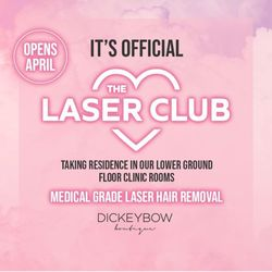 The Laser Club - Dickeybow Boutique Leeds