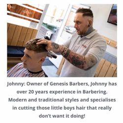 Johnny Parry - Genesis Barbers Heanor