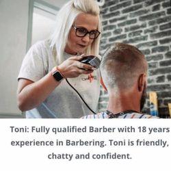 Toni Morley - Genesis Barbers Heanor