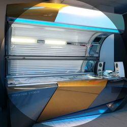 Bed 4 Ergoline 1100 S Liedown - Sun Glow Tanning