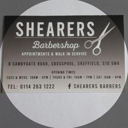 Shearers Barbers, Sandygate Road, 8, S10 5NH, Sheffield