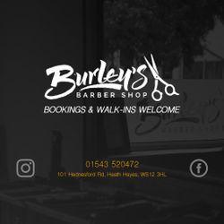 Burley's Barber Shop, 101 Hednesford Road, WS12 3HL, Heath Hayes, Cannock, England