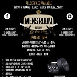 The Men's Room VIP and Main Barbers, 1a orion way, NN15 6NL, Kettering Business Park, England