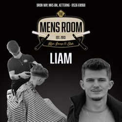 Liam Apprentice - The Men's Room VIP and Main Barbers