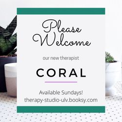 Coral Dhommee - The Therapy Studio Ulverston