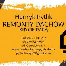 HENRYK PYTLIK - REMONTY DACHÓW HEN-DACH