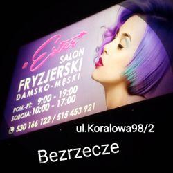 ESTER Salon Fryzjerski, Koralowa98/2, Bezrzecze, Salon Fryzjerski Ester, 70-562, Szczecin