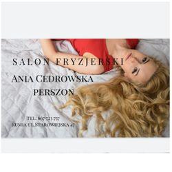 Fryzjer  Ania Cedrowska-Perszon, ulica Starowiejska, 47, 47, 84-230, Rumia