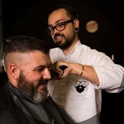 """Lazlo """"Sweeney"""" Venter - Sweeney's Barbershop & Café"""